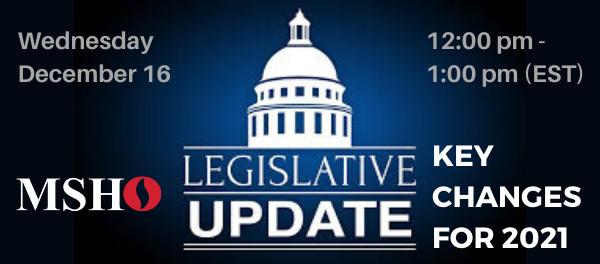 Legislative Update: Key Changes for 2021