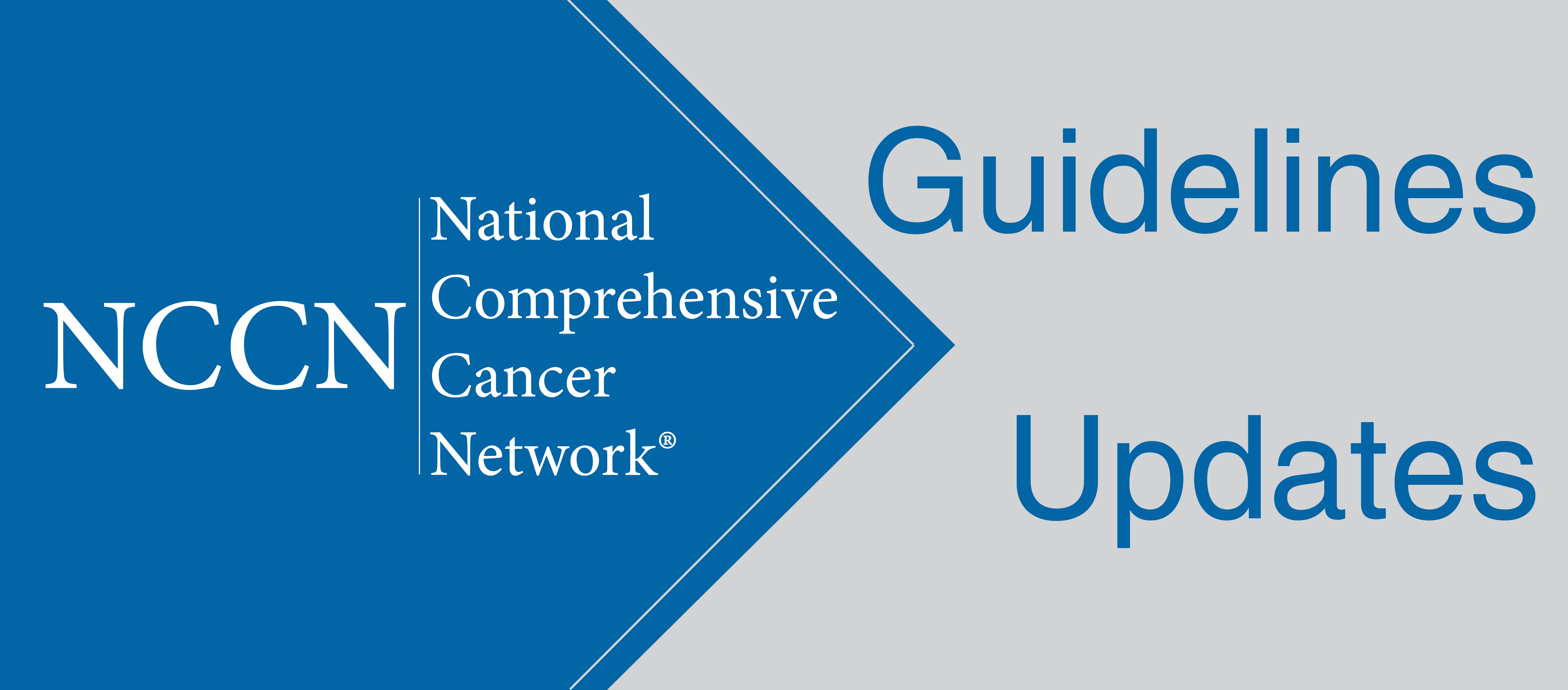 NCCN Guidelines Updates